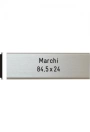Briefkastenschild Marchi, 84.5x24 mm