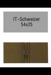 Sonnerieschild Schweizer IT-25, 54x25 mm